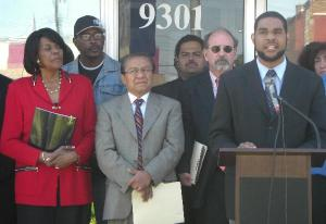 Press conference regarding HR 5950
