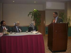 Rep. Keith Ellision at American Muslim Democratic Caucus Press Conference