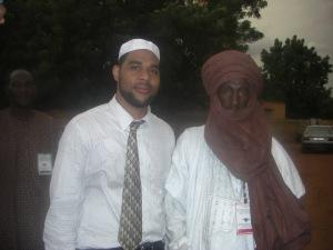 Imam Dawud Walid with Timbuktu Shaykh