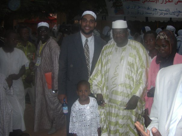 Imam Dawud Walid with Imam Mahamadou Diallo, Pres. of AMPS