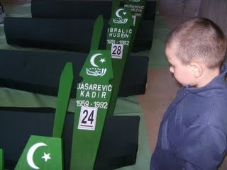 End result of Islamophobia: Bosnian genocide victims